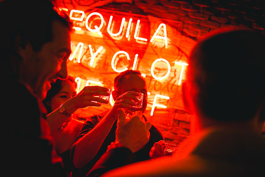 Best tequila bar in Bangkok.